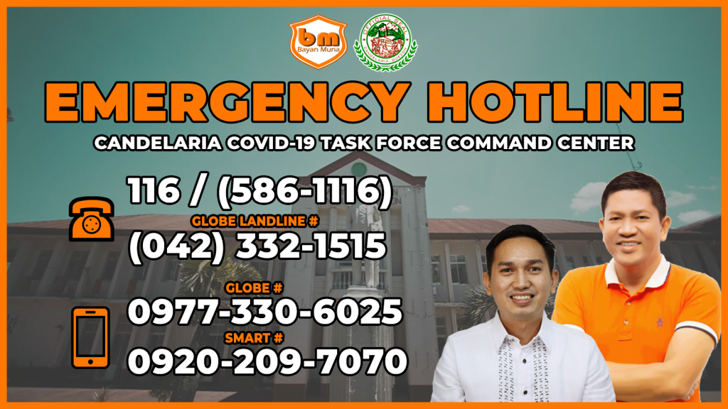 EMERGENCY HOTLINE – Candelaria Covid-19 Task Force Command Center