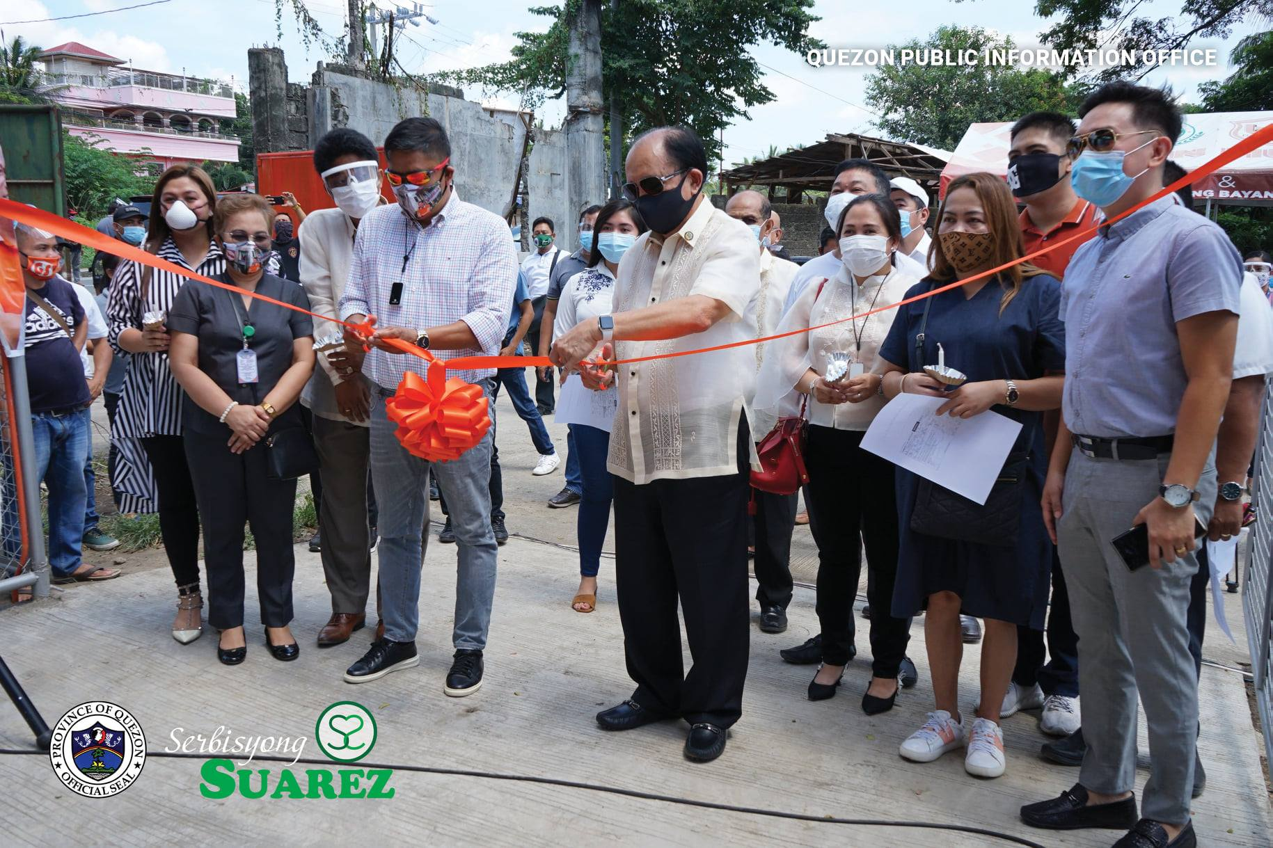 Ceremonial Opening of the Candelaria, Quezon Ligtas Covid Center (Isolation Facility of Candelaria, Quezon)