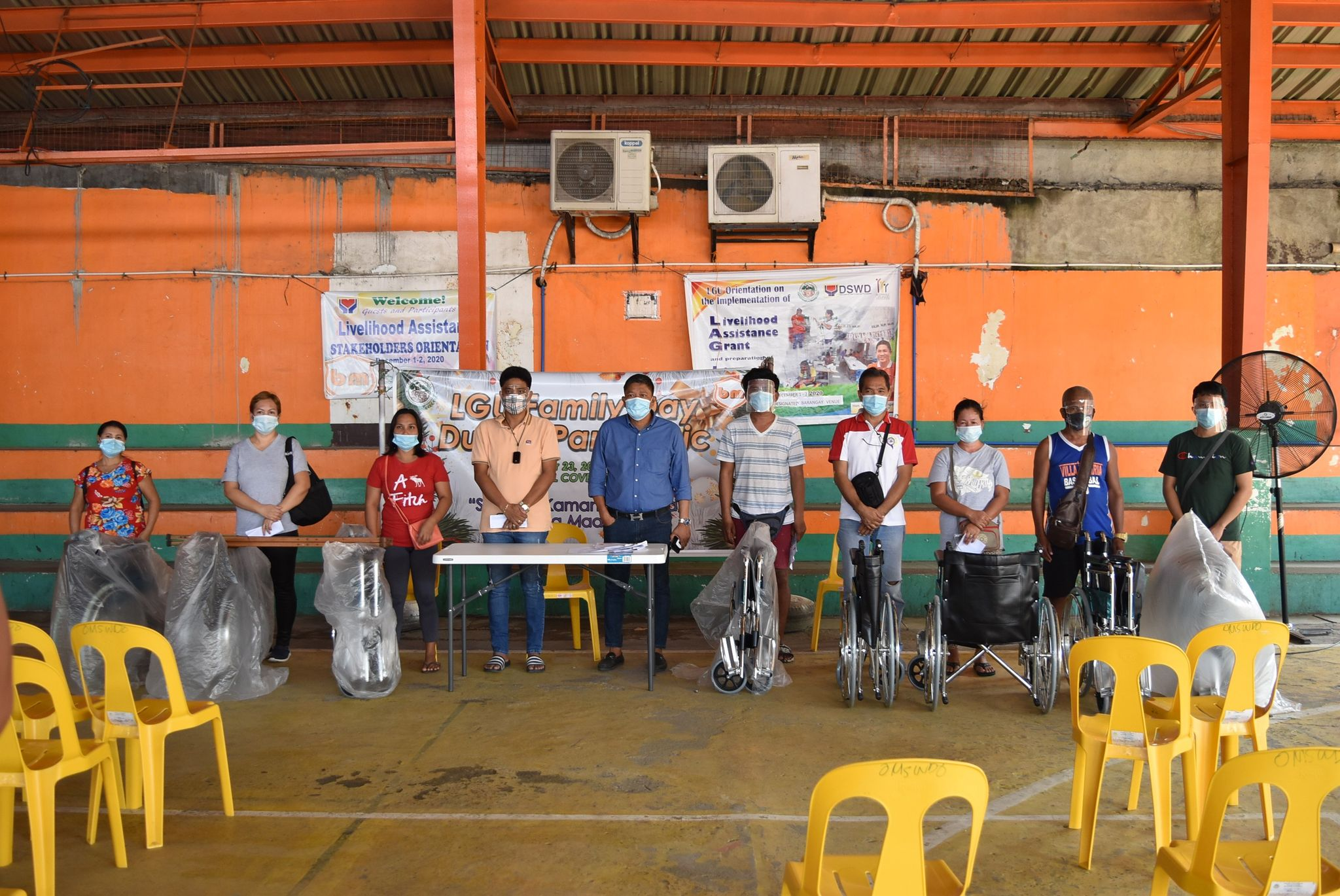 Distribution of Assistive Devices to PWD